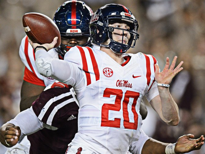 Taking Off The RedShirt: Shea Patterson Shines For Ole Miss