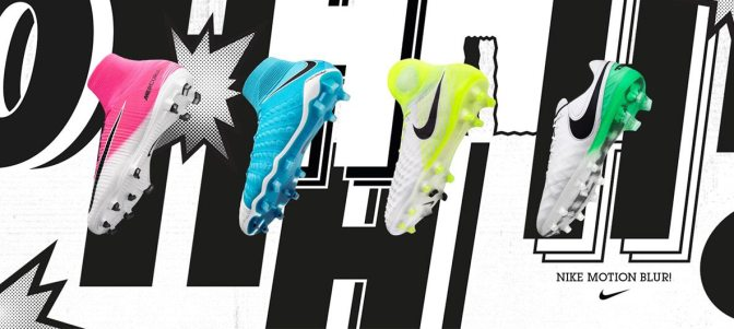 New Release:  Nike Motion Blur Pack