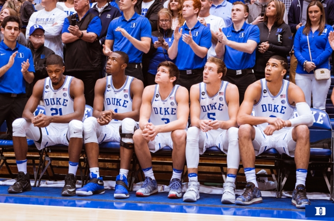 Duke Basketball:  Moving Past 2016