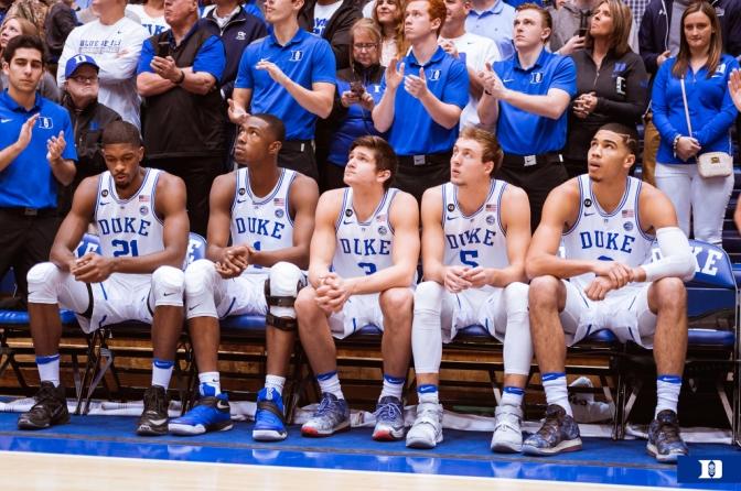 Duke Basketball:  Moving Past 2016